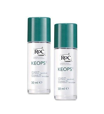 Roc Keops Deodorante Roll-On Senza Profumo 48h 2x30ml