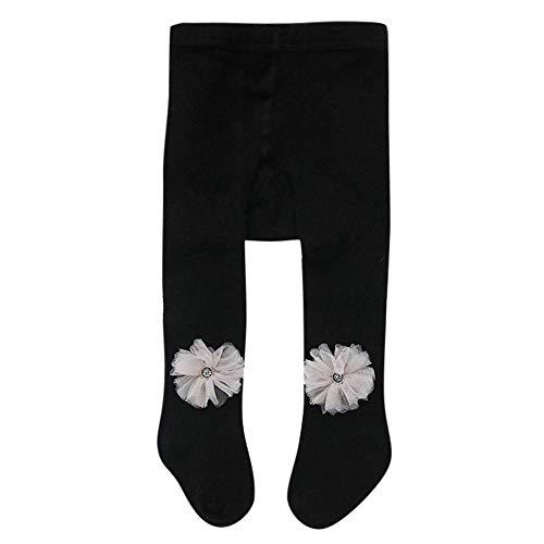 Missoul Baby Cotton Tights Kids Socks Pants Girl Leggings Stocking Winter Socks Pantyhose (Flower-black) Bronze Womens Snowboard Boots