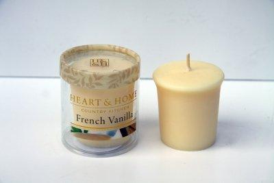 Heart and Home 3275020201 Votivkerze Französische Vanille