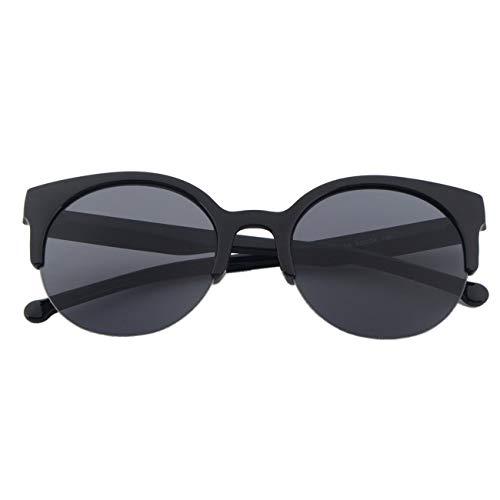 GreatWall Fashion Unisex Classic Round Circle Frame Halbrandlose Brillen Sonnenbrillen