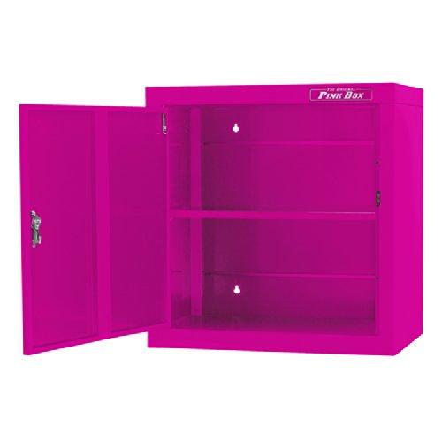 The Original Pink Box pb2600wc 2618g Stahl Hängeschrank, Pink