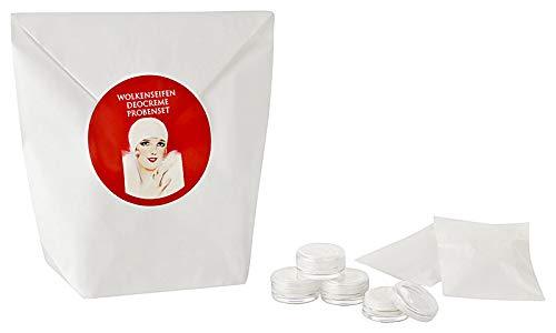Wolkenseifen ® Deocreme Probenset mit 15 Proben Deodorant Deo-Creme