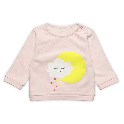 ESPRIT KIDS Baby-Mädchen Sweatshirt, Rosa (Pearl Rose 309), Herstellergröße: 74