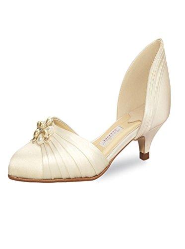 chaussures Ivoire Shoes Rainbow soie Elsa Couture Coloured Delano Mariée a6wtPnBzq