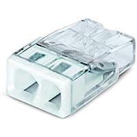 Wago 2273-202 Compact-Dosenklemme 2 x 0.5-2.5 qmm Nr.2273-202 100 Stück, weiß