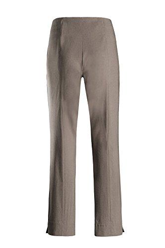 Stelo Mann-Ina-740-Pantaloni stretch da uomo in colori moda Verde
