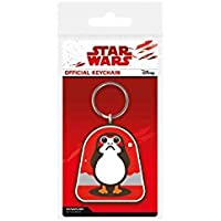 Star Wars Episode VIII Rubber Keychain Porg 6 cm Pyramid International