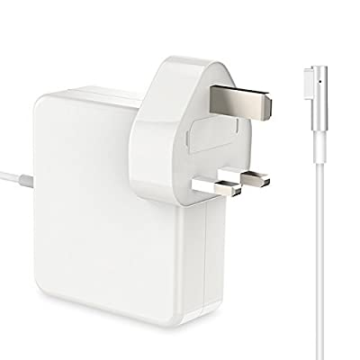 BETIONE MacBook Pro / Air Charger 85W Power Adapter With MagSafe (L) Style Connector - Works With 45W / 60W / & 85W MacBooks -11/13/15 - Compatible With Macbooks (Before Mid 2012) by BETIONE