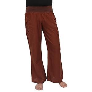 Yogahose aus Baumwolle, Pumphose, mit Stretch-Bund und Zwei praktischen Taschen – perfekt für Yoga und als Haremshose – Unisex für Männer und Frauen – Diverse Größen & Designs