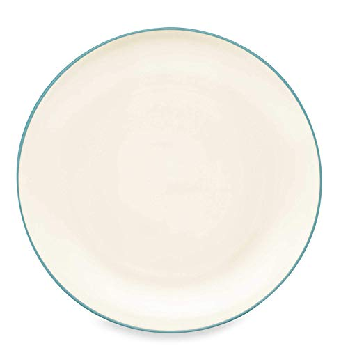 Noritake Colorwave Coupe Dinner Plate, Turquoise by Noritake Noritake Coupe