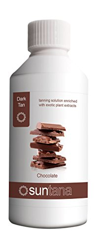 Suntana Chocolat Parfumé Spray Tan Solution (12% Foncé Bronzage) - 250ml