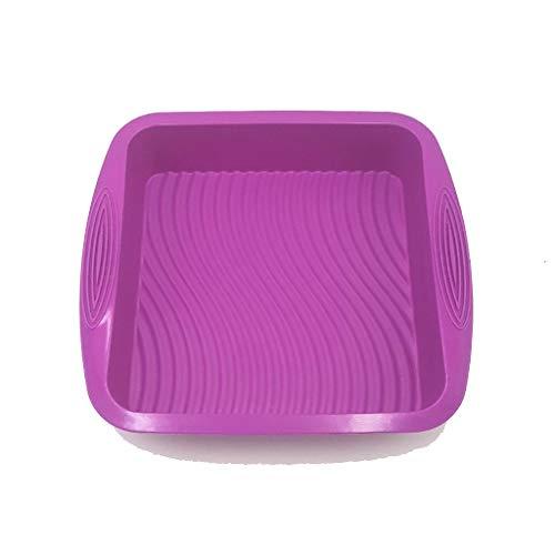SunRay, Küche Kuchenform, Silikon - Platz - Ofen Gebackene Kuchen Pan 26,5 * 24,5 * 5 cm