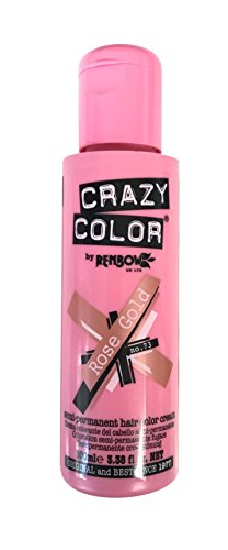 Crazy Color Haartönung 100ml (Rose Gold)
