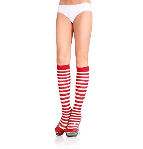 Sexy Lingerie zwei Sätze von Halloween Socken Versorgung Schwanz einzelne gestreifte Strümpfe Halloween Socken