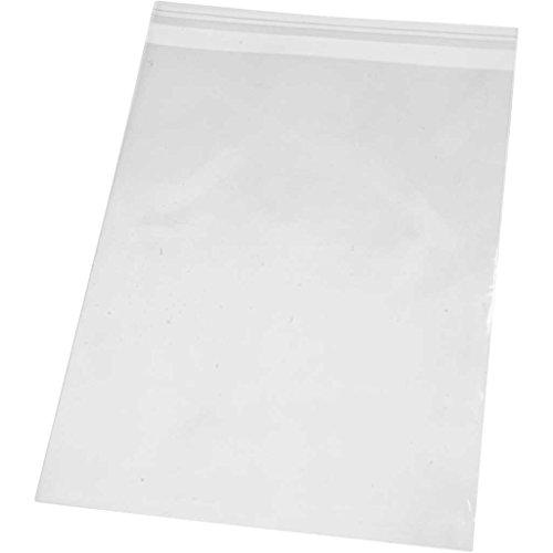Sachet cellophane, l: 18 cm, h: 25,3 cm, 200pièces