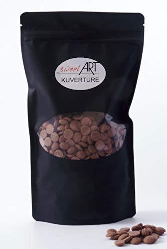 Schokolade Callebaut Callets Vollmilch Kuvertüre 500 g, feinste Konditor-, Backschokolade