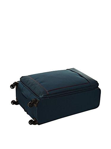 Roncato 414161 Trolley grande 4r Valigeria Blu Pz. petrol