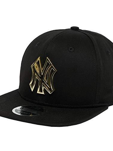 New Era MTL Badge Snap NEYYAN Cap Linie New York Yankees, Unisex Erwachsene, Gold (GLD) -