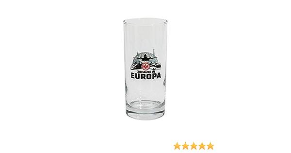 2er Set Trinkglas Glas SGE Attila Eintracht Frankfurt Kinderglas Plus Lesezeichen I Love Frankfurt