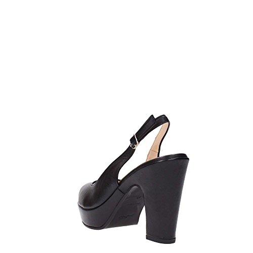 MELLUSO Y1125V Sandalo Donna Nero