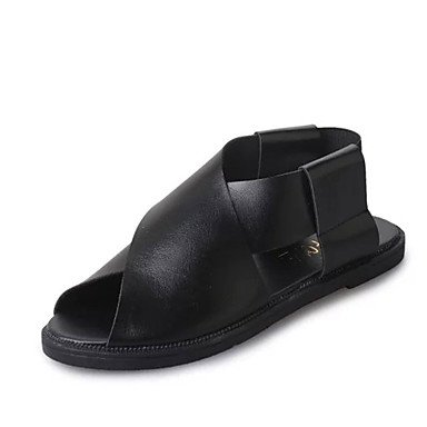 LFNLYX Donna stivali inverno Comfort PU Casual Chunky Heel Zipper nero / rosso borgogna altri Black