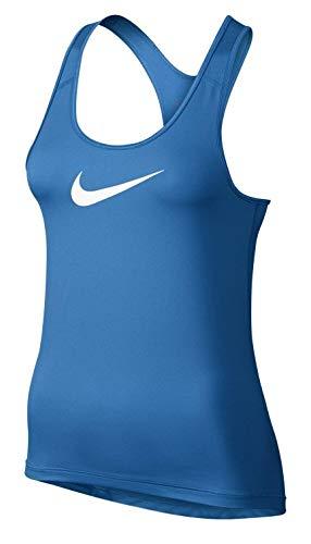 Damen Pro BlauweißM T Tank Top Nike Cool Shirt EH9YDIW2