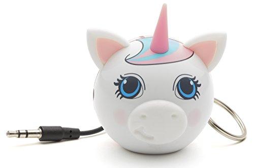 KitSound Mini Buddy - Altavoz portátil con Bluetooth (2 W, USB, 85 dB), diseño Unicornio