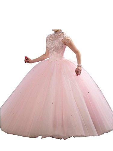 Promgirl House - Robe - Boule - Femme Rose