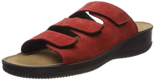 Romika Salina 01, Zapatillas Estar casa Mujer, Rojo
