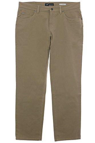 Arizona Twill Jeans Scott Herren Hose Stretch Straight Fit Kurzgröße Normalgröße, Farbe:beige;Herrengrößen:52 (Jeans Fit Twill)