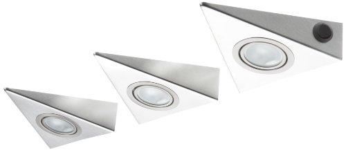 IKM Delta Mini Dreiecksleuchten-Set 3 x 20W (mit Zentralschalter) 55683042