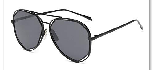 Sonnenbrille,Neue Big Frame Brille Männer Frauen Sonnenbrille Vintage Goggles Sommer Style Designer Sonnenbrillen Dunkelgrau