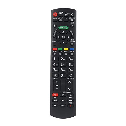 Smart TV Remote Control Replacement for Panasonic TV N2QAYB000572 N2QAYB000487 EUR7628030 EUR7628010 N2QAYB000352 Controller