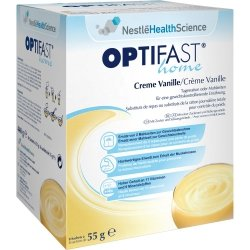 Optifast home Creme Vanille Pulver, 8 St. Sachets
