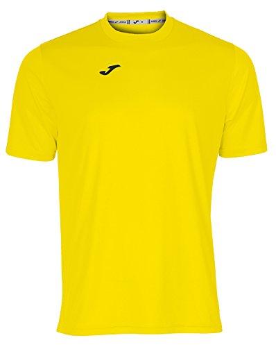 Joma Combi Camiseta, Hombre, Amarillo, XXL