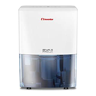 Inventor EVA II PRO WiFi 20L Dehumidifier, Remote Access with Wi-Fi technology, Smart Dehumidification for Lower Energy Consumption.