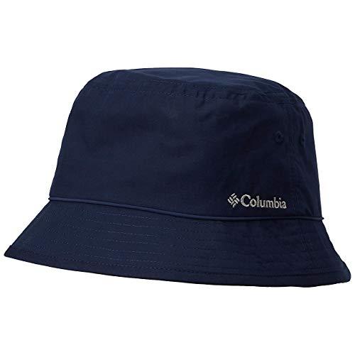 Columbia Pine Mountain Bucket Hat Sonnenhut, Blau (Collegiate Navy, Solid), L/XL
