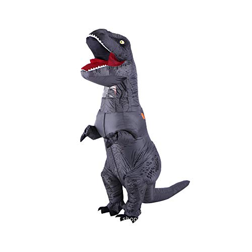 CLCYL Dinosaurier Aufblasbare Kostüm Kinder Aufblasbare Dinosaurier Kostüm T Rex Kinder Halloween Cosplay Tyrannosaurus Rex Tyrannosaurus Eltern-Kind Bühne Kleidung Kostüme