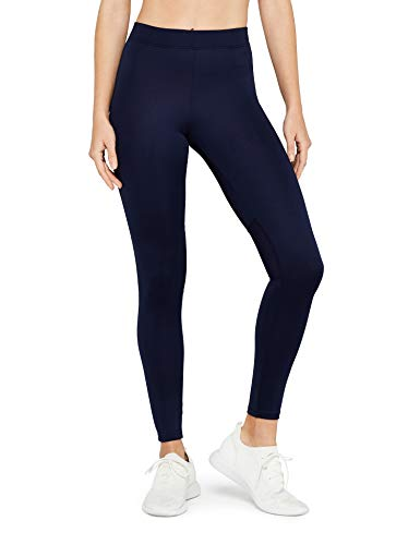 AURIQUE Damen Sportleggings, Blau (Navy), 38 (Herstellergröße: Medium)