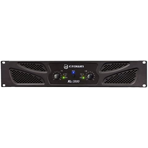 Crown XLi 3500 - Amplificador de audio (2.0, 0,5%, 100 Db, XLR / 1/4