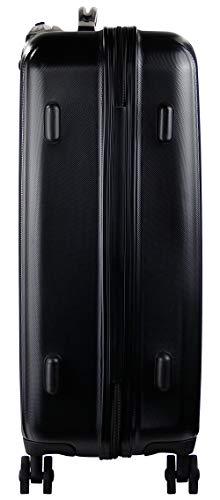 Bugatti Carpo Hartschalenkoffer Trolley 66cm, 60,5L, TSA, 4 Rollen, schwarz - 3