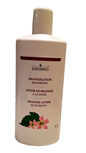 cosiMed Massageöl Brombeere, Wellness Massage Öl, Physiotherapie, 1 l