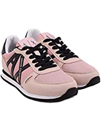 ARMANI EXCHANGE Microfiber Lace Up Sneaker bfc1377a555