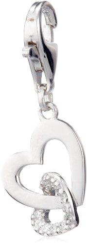 Esprit Damen-Charm Herzen 925 Sterling Silber 4428200