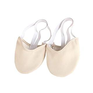 XIYAOHalf Sole Ballet Shoe Women Lyrical Shoes Dance Paw Leather Dance ShoeWomens Girl
