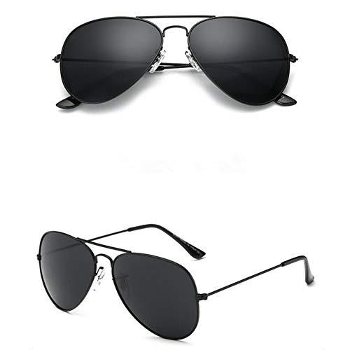Taiyangcheng Aviator Pilot Männer Sonnenbrillen Sonnenbrillen für Frauen gespiegelt Uv Eyewear Brille,A2