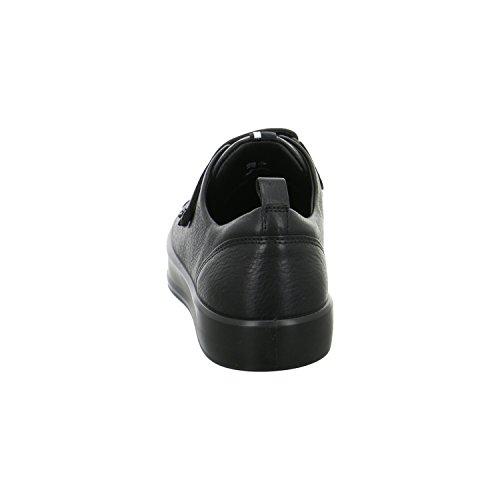 ECCO Soft 8 Ladies, Scarpe da Ginnastica Basse Donna Nero (Black/black)