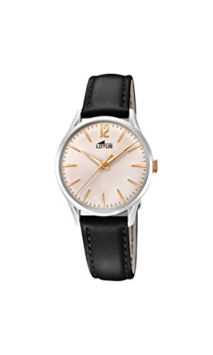 Lotus Watches Womens Analogue Classic Quartz Watch with Leather Strap 18406/4