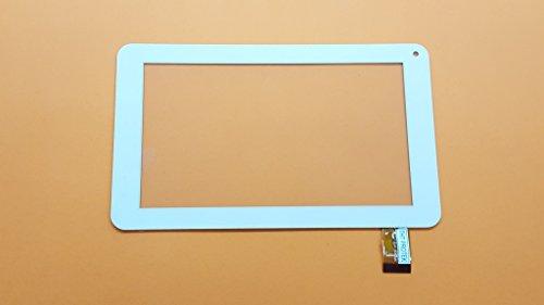 Weiss Touchscreen Digitizer Glas komp. Mit Tablet Woo Pad 706 Flash