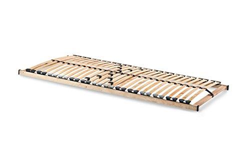 Spenger-Moebel Lattenrost 90x190 cm 140x190 cm, Lattenrost C-Flex mit 26 Leisten unverstellbar (90 x 190 cm)